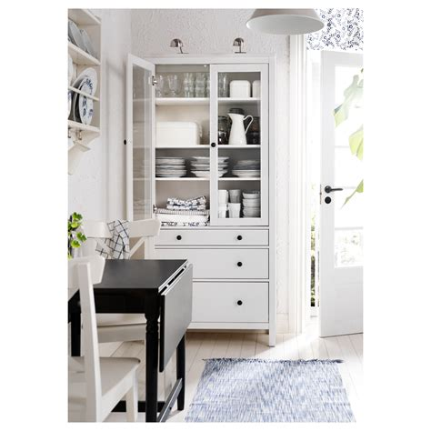 glass door cabinet with drawers transcendent white cabinet with glass door hemnes glass