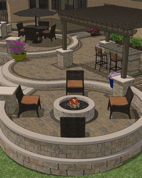 Custom Patio Designs Affordable Patio Designs For Your Backyard Mypatiodesign