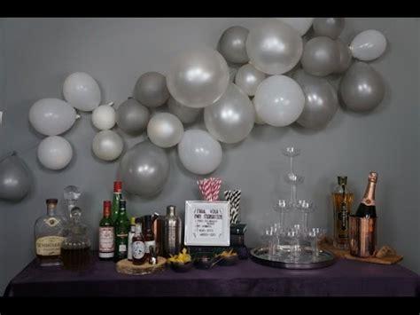 Balloon wall youtube