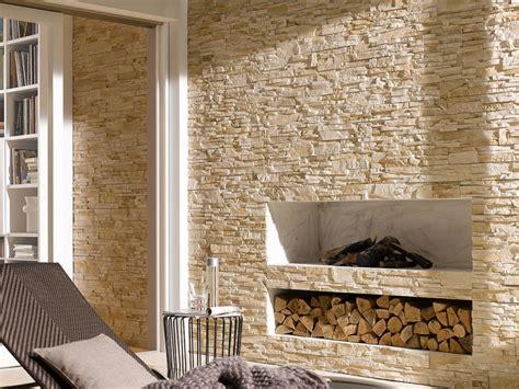 natursteinwand innen steinwand im wohnzimmer 30 inspirationen klimex