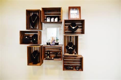 wooden crate shelves mr kate diy crate shelves