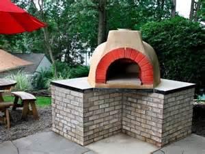 backyard brick oven costruire un forno a legna accessori da esterno come