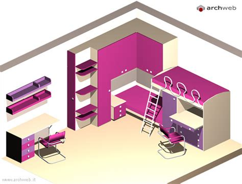 blocchi cad scrivania scrivanie camerette dwg soluzioni per una letto