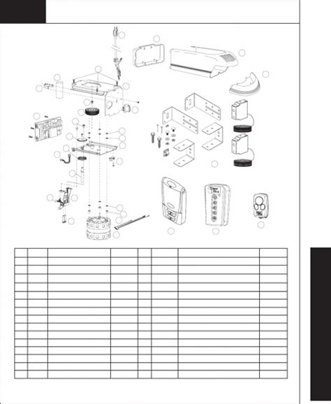 Dalton Garage Door Parts Wayne Dalton Garage Door Parts Page 43 Of Wayne Dalton Garage Door Opener 3220c User Guide