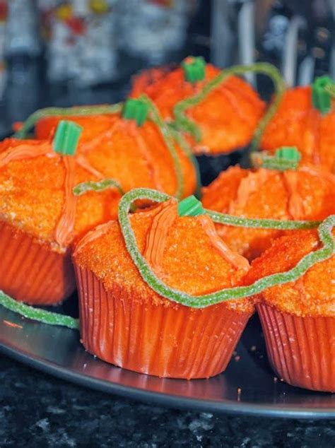 Pumpkin Decorated Cupcakes by 123 Best Food Images On