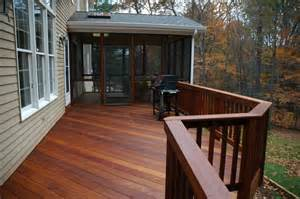windsor connecticut ipe deck and screened porch traditional porch other metro by