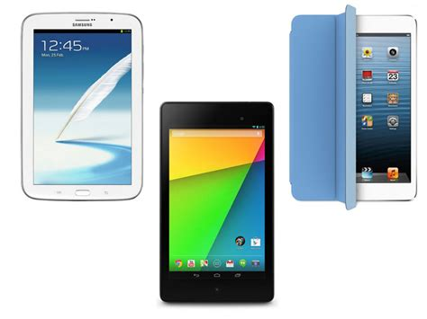 best small tablets best small tablets nexus 7 2013 vs mini vs