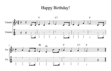 ukulele happy birthday ukulele chords happy birthday at ukulele rocks o