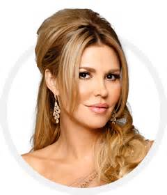 brandi glanville hair brandi glanville hulf up hulf down hairstyle