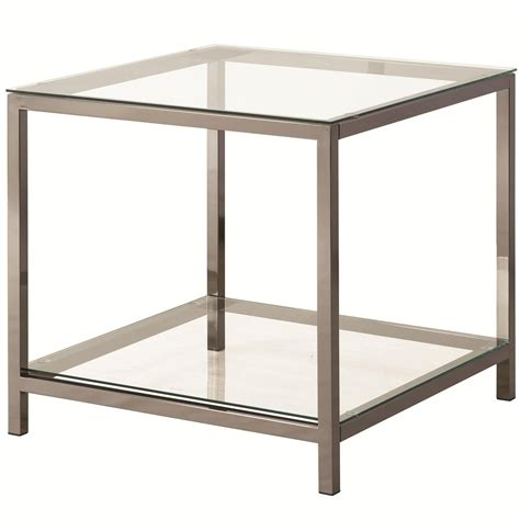 silver metal end table silver metal end table a sofa furniture outlet los
