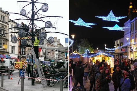 lights cardiff light switch ons happening in south and west