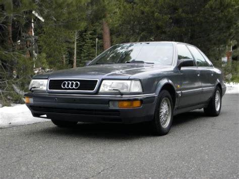 1991 Audi V8 by 1991 Audi V8 Quattro German Cars For Sale
