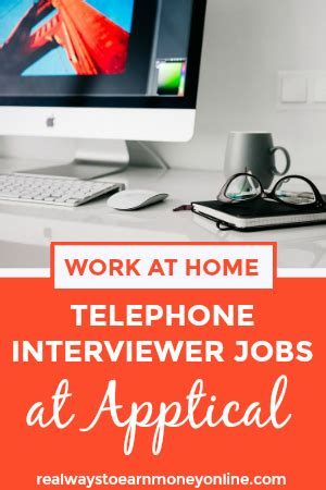 work from home telephone interviewer apptical work at