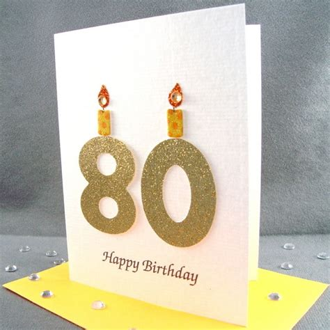 Milestone Birthday Cards 40 Best 80th Birthday Cards Images On Pinterest