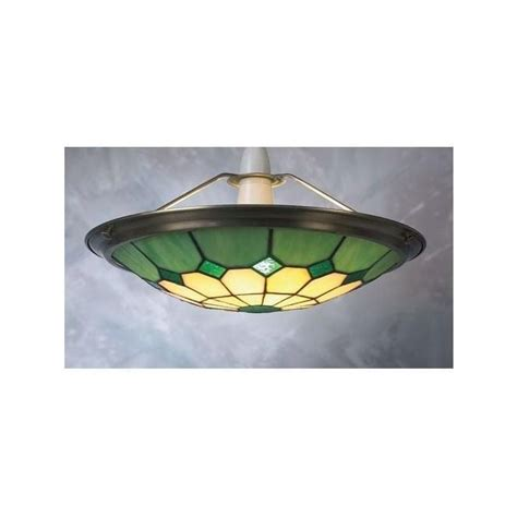 Green Light Shades Ceiling by Loxton Lighting Bistro Ceiling Light Uplighter Shade In