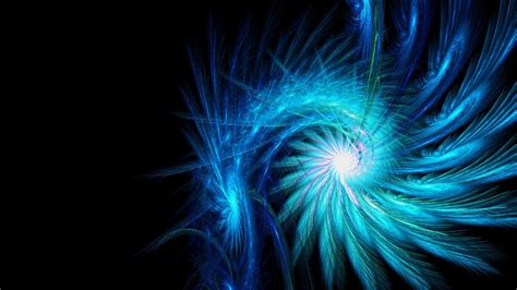 Black And Light Blue by Line Black Blue Light Rotation Hd Wallpaper