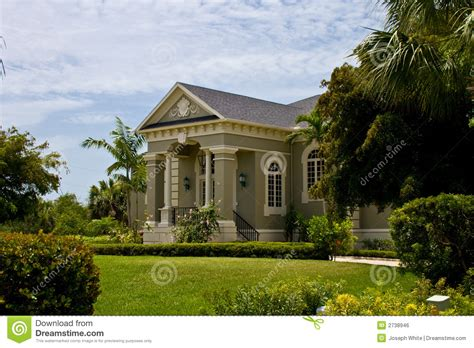 neo house music modern neo classical house royalty free stock image
