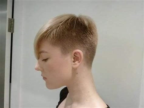 pixie cut with shaved nape 2454 best images about angeschnittene haare on pinterest