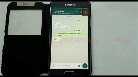 whatsapp on samsung tablet android phone how to block or unblock whatsapp contact in samsung galaxy s5
