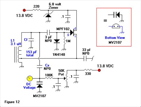 what are variable capacitance diodes voltage variable capacitance vvc diodes basic circuit circuit diagram seekic