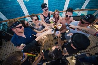 salty dog boat magazine show review flogging molly salty dog cruise