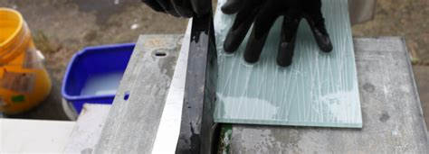 cutting glass tile how to cut with a wetsaw about glass tile