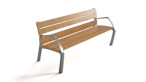 steel and wood bench bench steel wood flyingarchitecture
