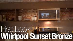 Home Design Suite 2015 Review Whirlpool Says Stainless Is Out Sunset Bronze Is In