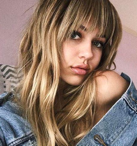 models with bangs 35 model approved hairstyle ideas to copy this summer