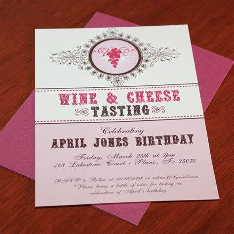 wine invitation template wine and cheese invitations gangcraft net