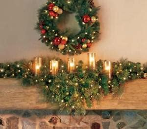 6 foot indoor cordless lighted pre lit mantle garland swag