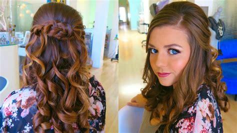 Wedding Hair And Makeup Trial by Wedding Hair Makeup Trial Bridal Hairstyle Half Up Half
