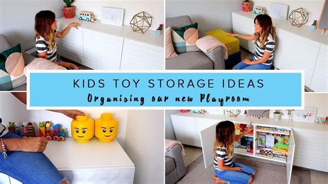kids toy storage ideas kids toy storage ideas organising our new play room youtube