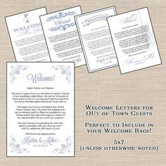 Wedding Brochure For Out Of Town Guests by 1000 Images About Wishes On Hotel Welcome