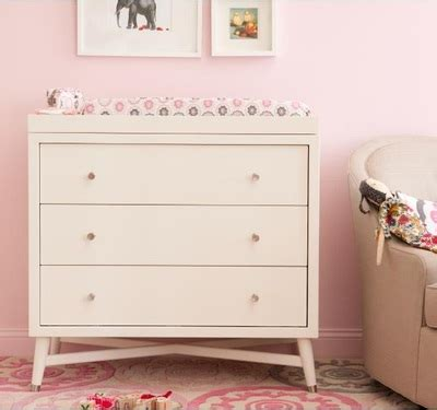 Rh April Gamis Ima Mint nursery changing tables diy dbo youthfulnest