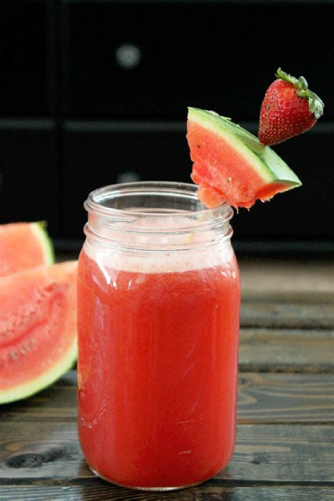 Detox Water With Only Strawberries by Not Quite A Vegan Strawberry Watermelon Flush
