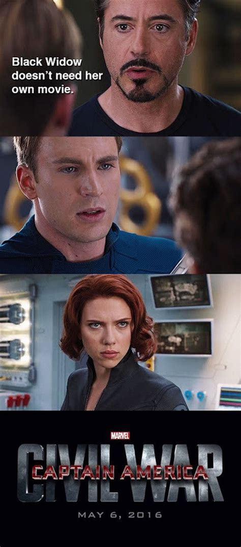 Black Widow Meme - the best of the captain america civil war meme