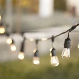 vintage string lights outdoor outdoor vintage string lights 48 ft length with 15 lights