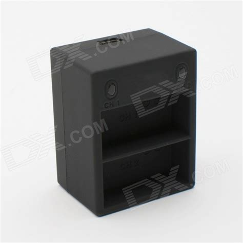 Charger 3 Slot For Gopro 34 With 2 Battery dual slot charger 3 batteries for gopro 3 3 black free shipping dealextreme