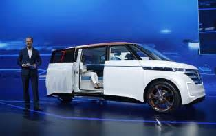 Connected Car Volkswagen Volkswagen Goes Electric With Budd E Concept At Ces