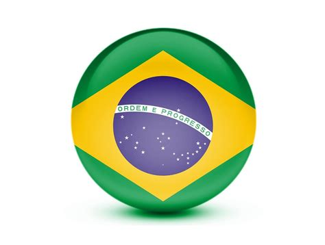 Abstract Clocks by Free Illustration Flag Brazil 3d Brazil Flag Free