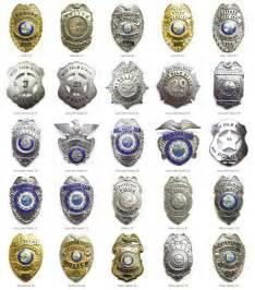 city police badges s through zz