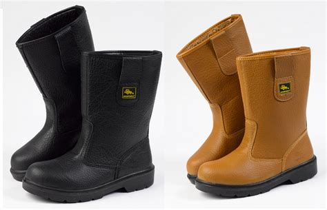 workforce safety rigger boots genuine leather fleece lined