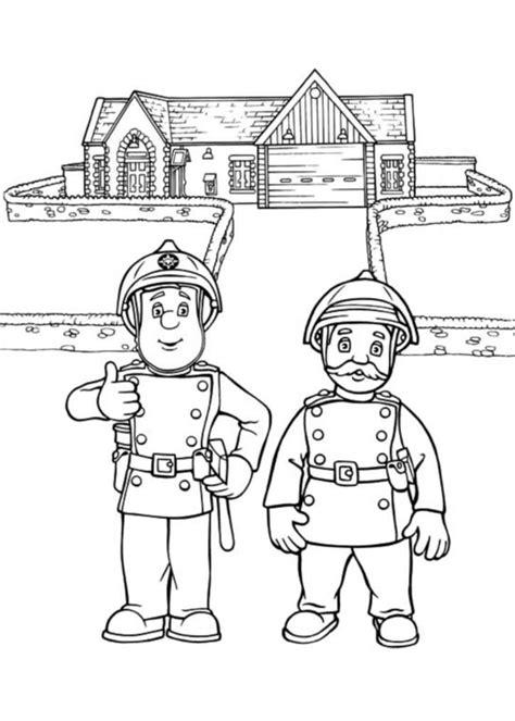 Coloriage Sam Le Pompier Les Beaux Dessins De Dessin Coloriage De Sam Le Pompier Imprimer L