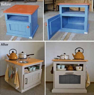 upcycled kitchen ideas 17 best ideas about kid kitchen on diy