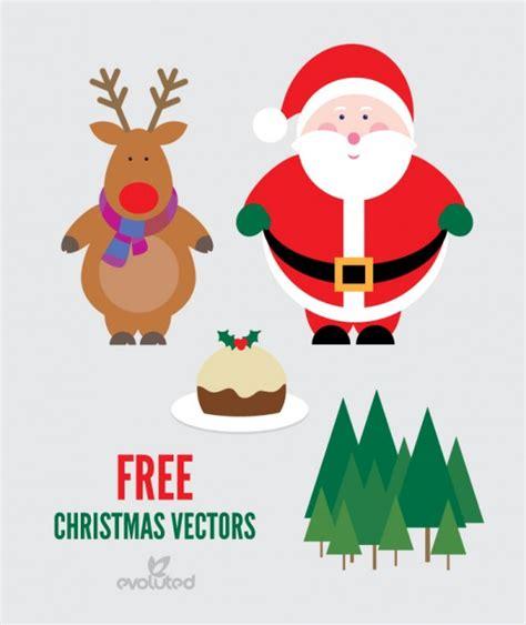 imagenes de santa claus y los renos paquete de la navidad del vector con santa claus y renos