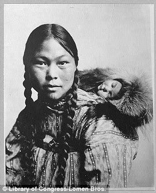 historic photographs document how alaska's inuit eskimos
