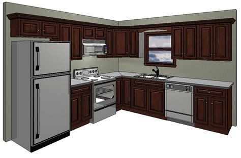 10 By 10 Kitchen Designs 10x10 Kitchen Layout In The Standard 10 X 10 Kitchen Price That We Quote Exle Of A