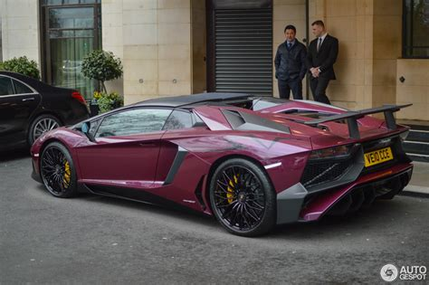 lamborghini aventador sv roadster autogespot lamborghini aventador lp750 4 superveloce roadster 27 march 2016 autogespot