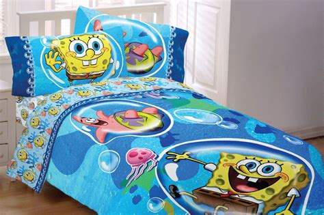 spongebob squarepants twin bed set sponge bob bubble